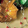 Red Jade Necklace display