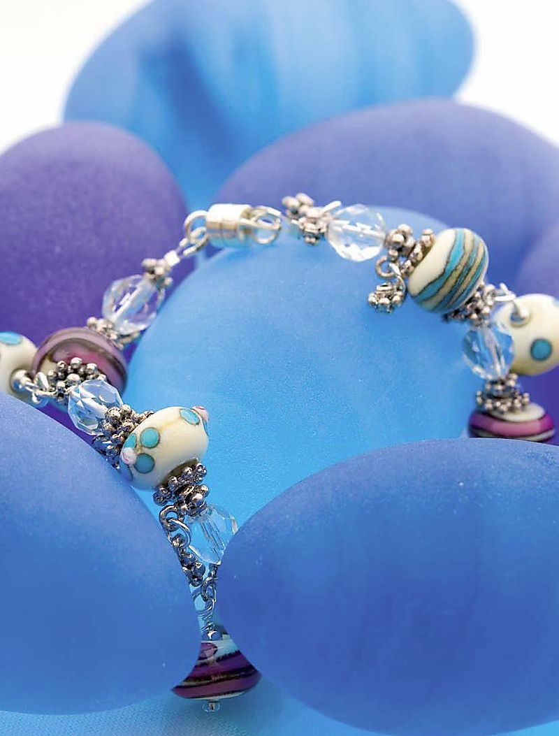 Lampwork Bracelet Display