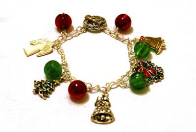 Christmas bracelet web