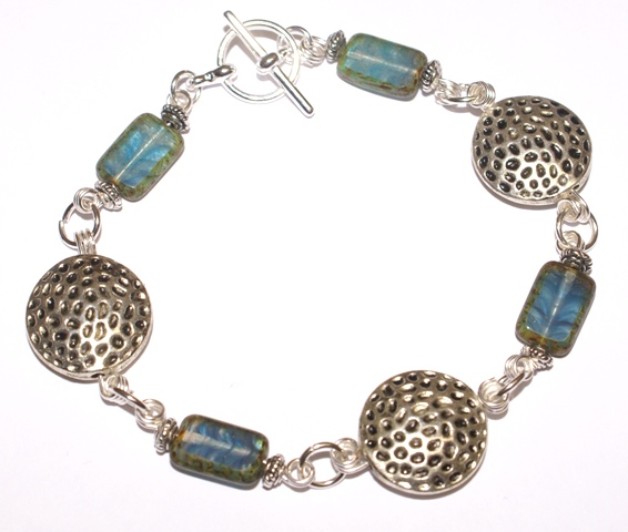 Briny sea bracelet web