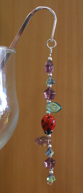 Lady beetle bookmark 001
